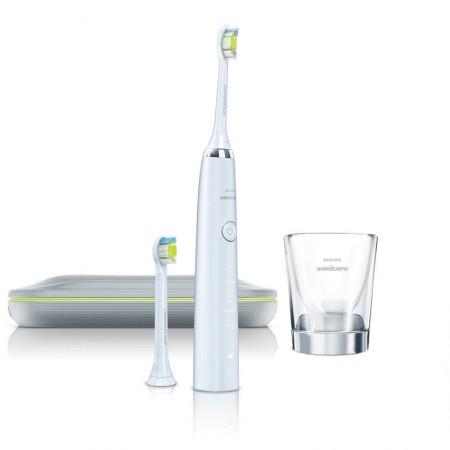 飞利浦(PHILIPS)电动牙刷HX9332/04 钻石亮白型 充电式成人声波震