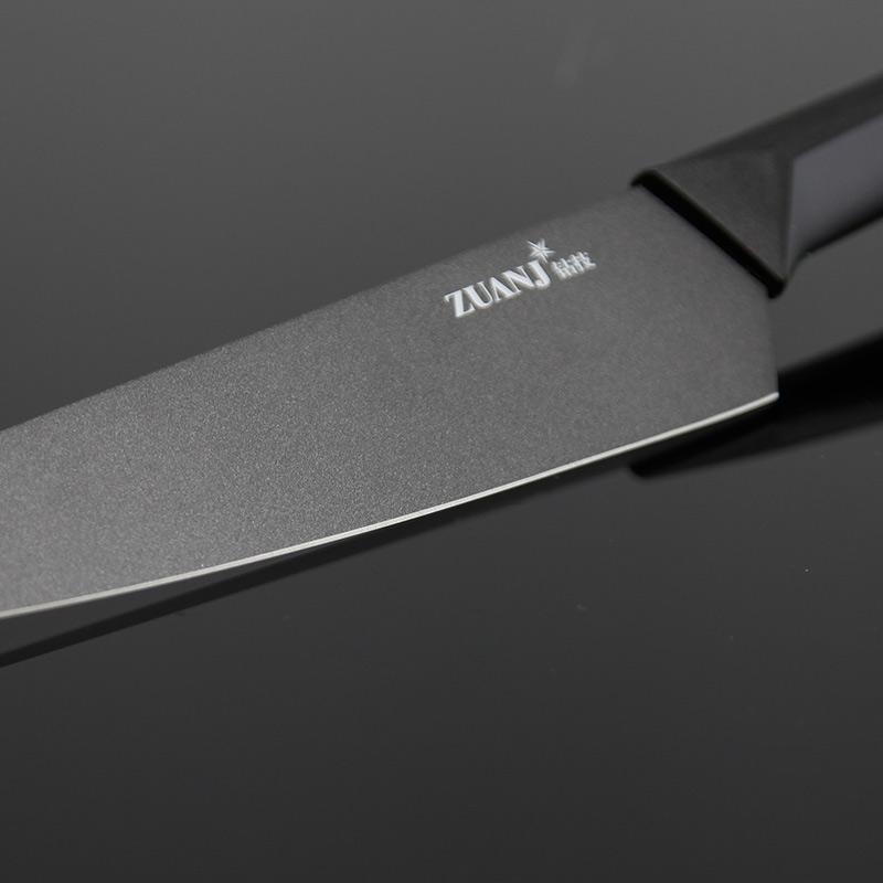 ZUANJ/钻技 厨房不沾刀四件套·黑色