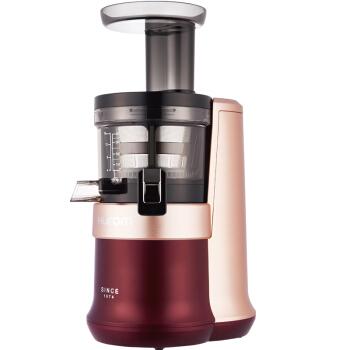 惠人(HUROM)原汁机料理机家用低速榨汁机HU12027WN三代·酒红色