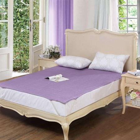 富安娜圣之花 素色保护垫橡筋款·紫色