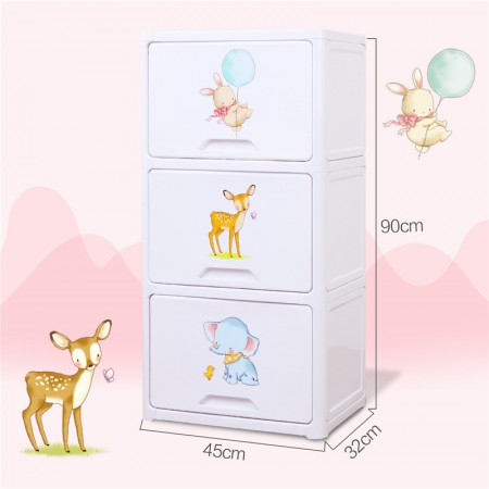 也雅柔软时光翻盖式宝宝衣柜·WJ-45003