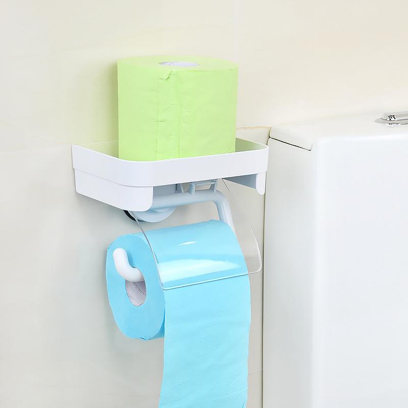 韩国deHub真空吸盘卫生纸架