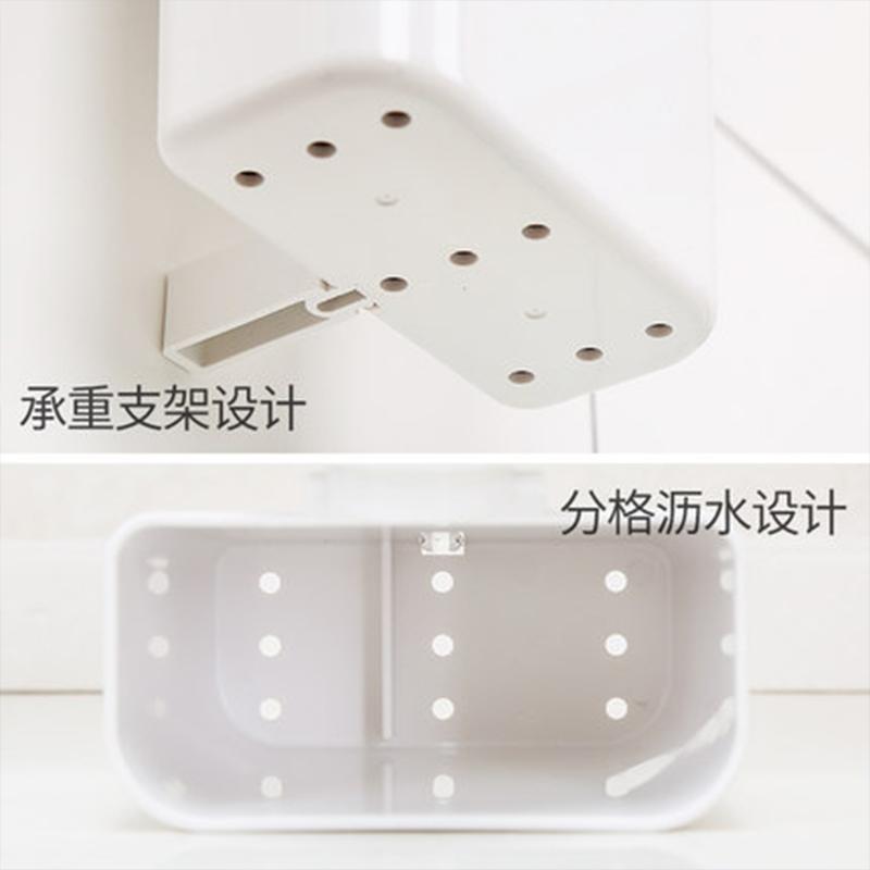 韩国deHub真空吸盘筷子筒