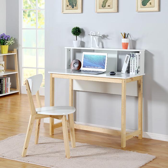 生活诚品简约北欧风书桌MQ50010·白色