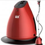 华光(HG)10档液晶 单杆 蒸汽挂烫机 家用手持/挂式电熨斗熨烫机WY69-LDV·酒红色