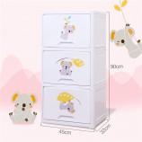 也雅树熊翻盖式宝宝衣柜·WJ-43003