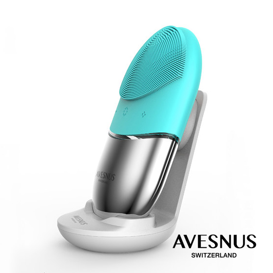 AVESNUS/依惟思 瑞士硅胶洁面仪·1件·午夜黑