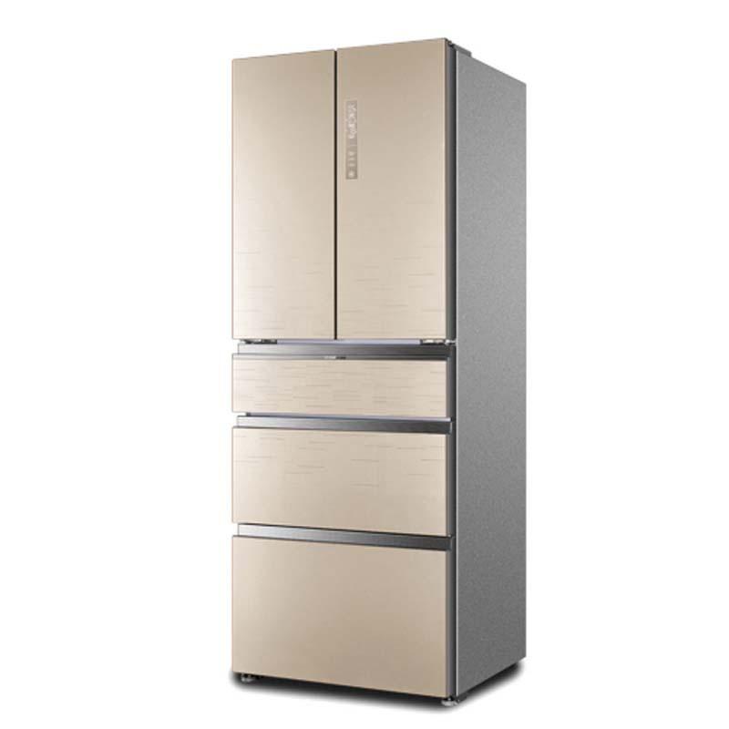 海尔变频节能多门家用电冰箱bcd-426wdgbu1·金色