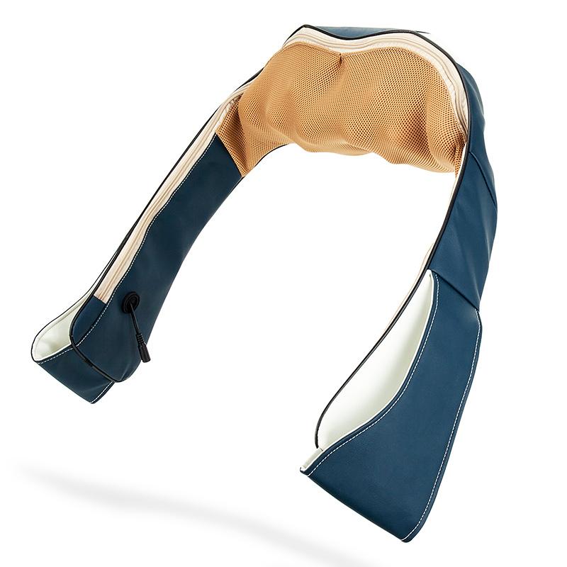 泰昌TC-N330d揉捏按摩披肩颈椎按摩器颈部腰部肩部背部全身揉捏·墨绿色