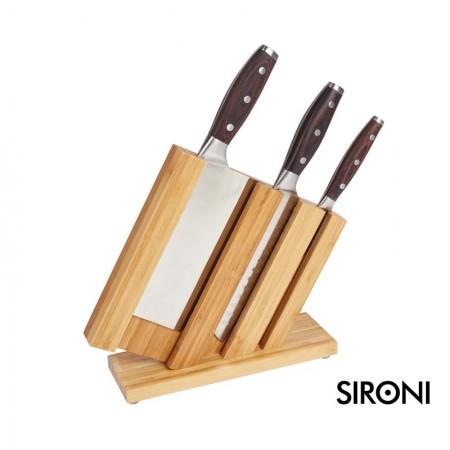 意大利SIRONI绝刃系列不锈钢刀具四件套 菜刀 全套厨房家用刀具组合套装
