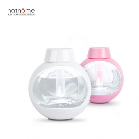 nathome/北欧欧慕 家用加湿器迷你USB香薰LED灯办公室静音·甜甜粉