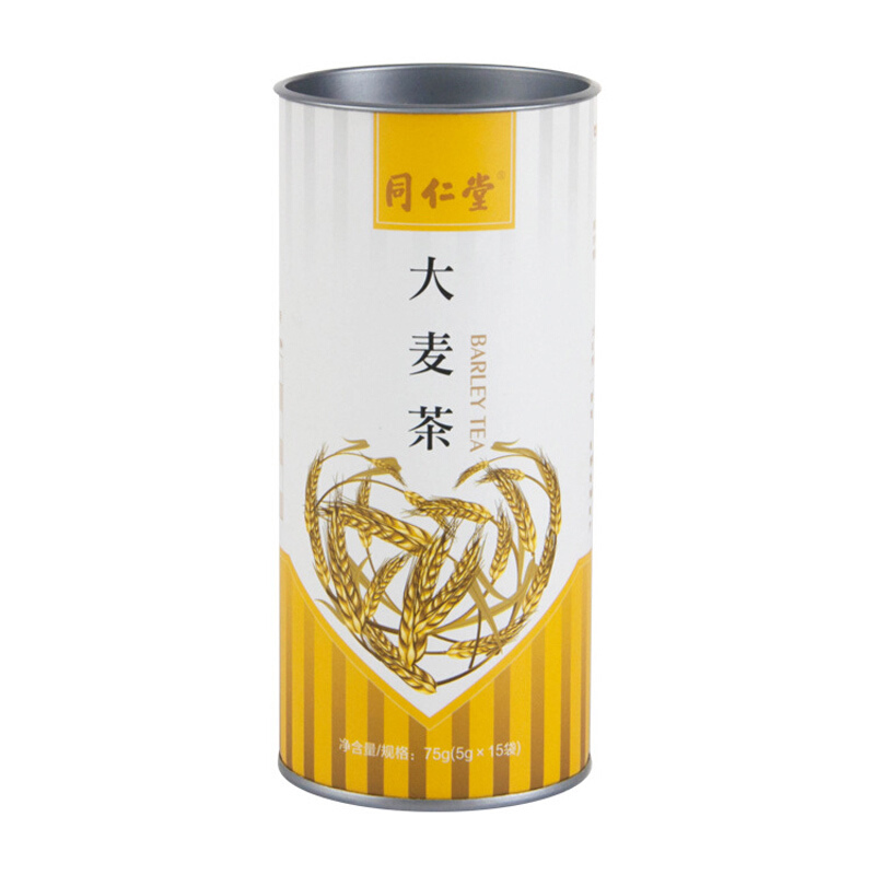 同仁堂茶叶花草大麦茶75g*3罐装