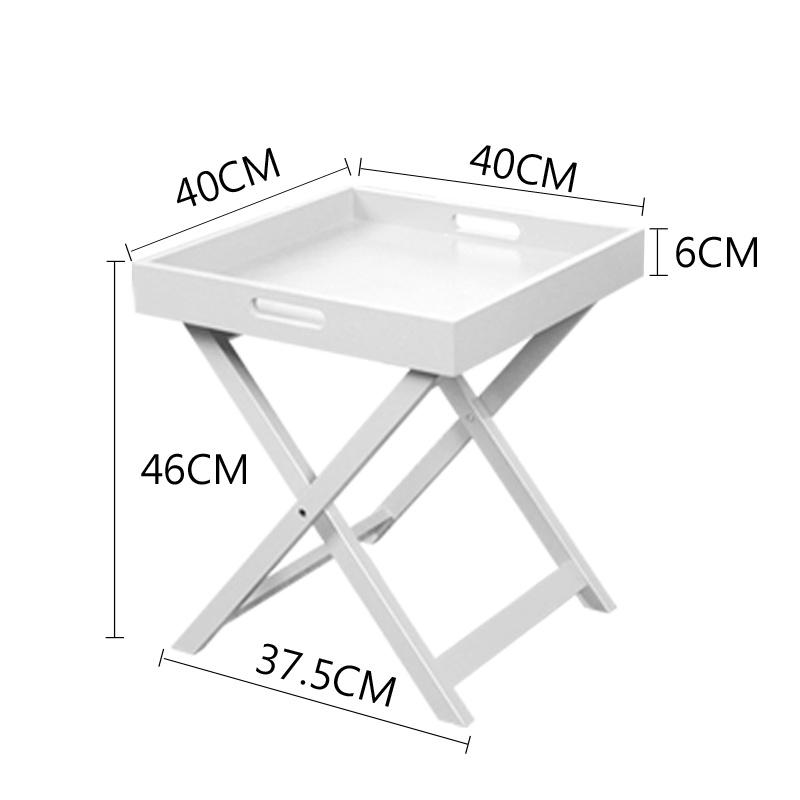 慧乐家艾克妮边桌(白色)11361·白色