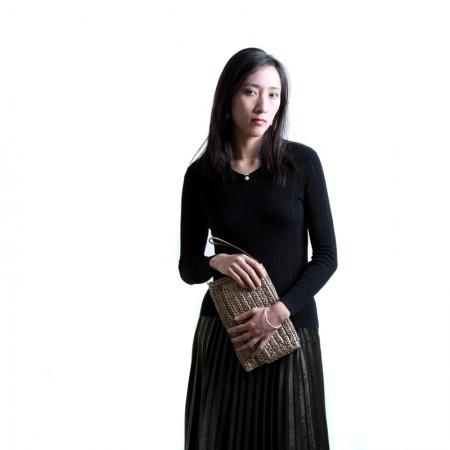 SSYAOGE 羊毛小V领针织打底衫毛衣1712·黑色