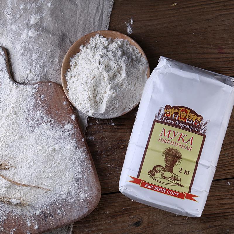 俄罗斯进口非转基因有机小麦粉·白色