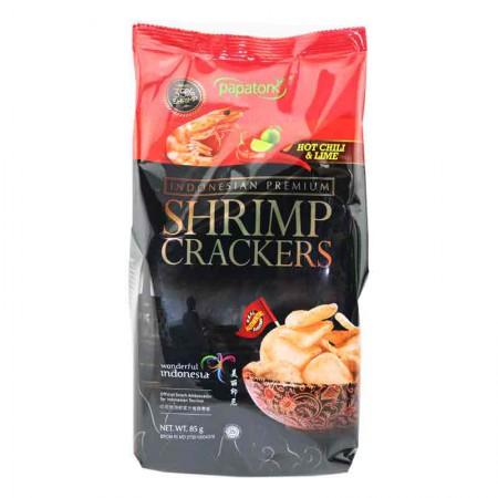 印尼进口 啪啪通虾片85g*5袋·冬阴功味
