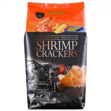 印尼进口 啪啪通虾片85g*5袋·切达奶酪味