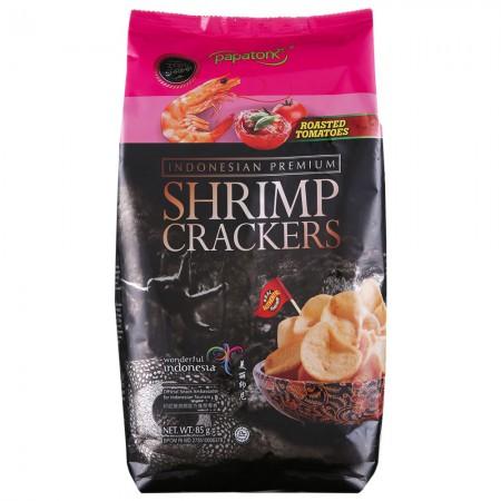 印尼进口 啪啪通虾片85g*5袋·烤番茄味