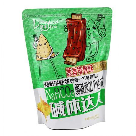 碱体达人 苏打饼干200g*6袋·葱香排骨