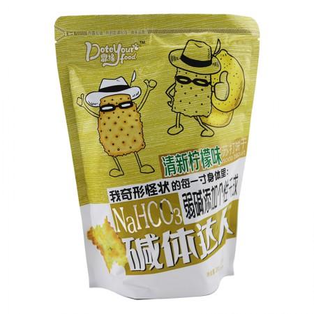碱体达人 苏打饼干200g*6袋·清新柠檬