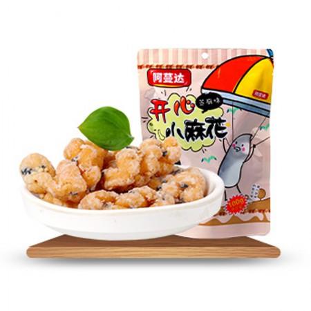 台湾进口 阿蔓达小麻花100g*4袋·芝麻味