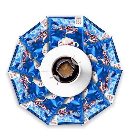吉意欧 滤泡式挂耳咖啡4口味8g*40袋·蓝山