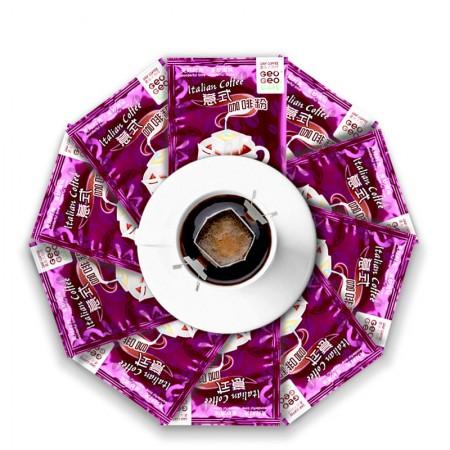 吉意欧 滤泡式挂耳咖啡4口味8g*40袋·意式