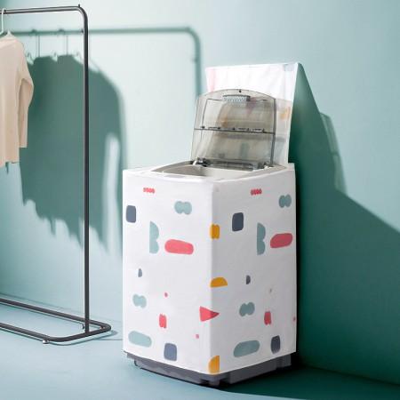 [JM]防水洗衣机防尘罩·翻盖式