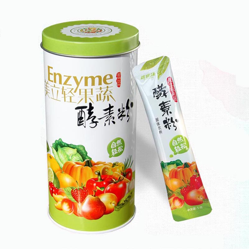 蓓瑞康 美立轻果蔬酵素粉5g*12包*1罐