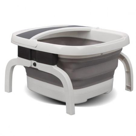 朗欣特 折叠式足浴盆 节省空间电动加热足浴器·灰白色