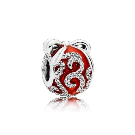 丹麦潘多拉(PANDORA) 锦绣呈祥925银+珐琅串饰