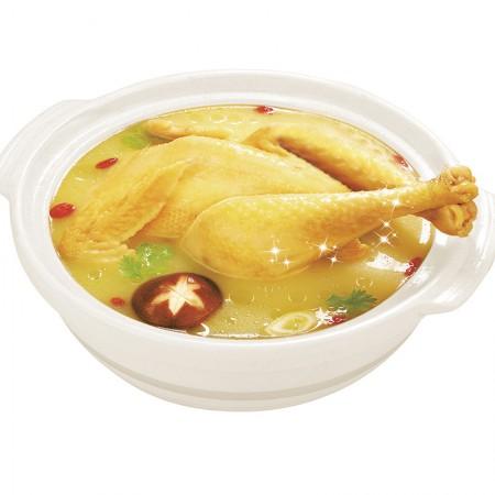 饪食堂 散养上树母鸡童子鸡4只装