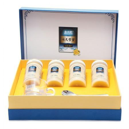 北大荒 冰天雪蜜礼盒·380g*4瓶·通用